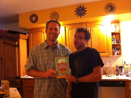 August 17, 2012. Steve and Keith agree to learn to make beer together.