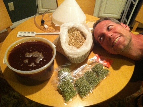 Keith and SumoCitrus2 IPA Ingredients