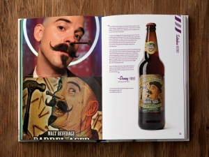 Sample image from  the book Craft Beerds.