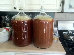 Imperial IPAs Dry Hopped with Cascade (left) and Citra (right) Hops