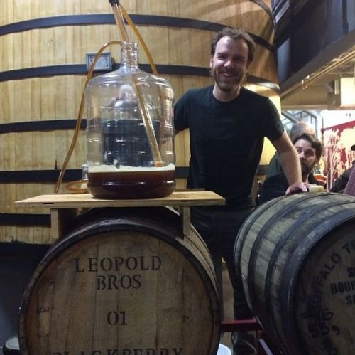 Flanders Red Ale goes into the barrel at New Belgium